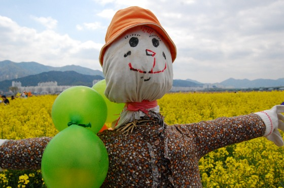 Friendly Scarecrows