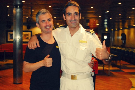 Gervasio & Ale- my two buddies of the Costa Classica