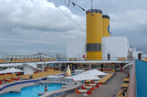 The open deck